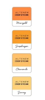 Altenew - 4 Pack 1''Cube -  Golden sunset ALT3103