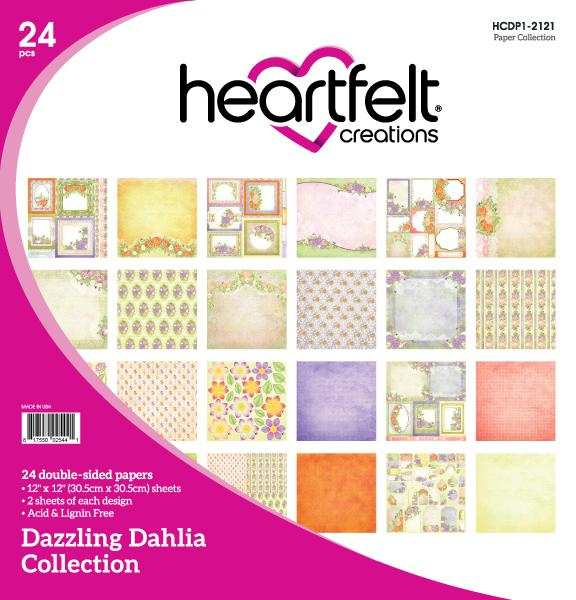 HCDP1-2121 : Dazzling Dahlia Paper Collection