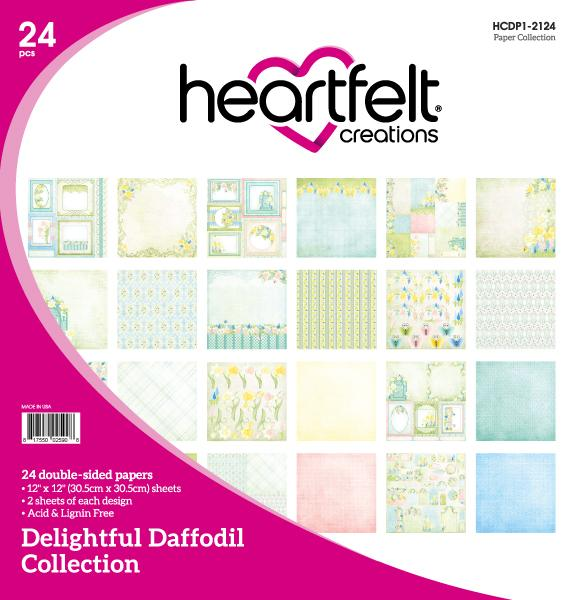 HCDP1-2124 : Delightful Daffodil Paper Collection - (Delightful Daffodil)