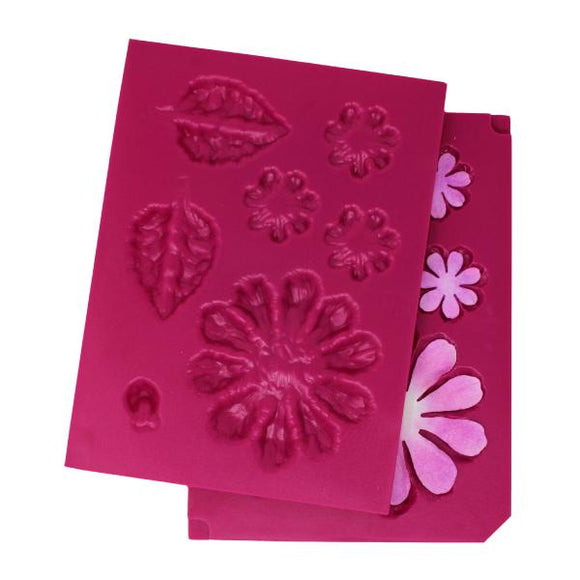 Heartfelt Creations : HCFB1-491 - Large 3D Zinnia Shaping Mold