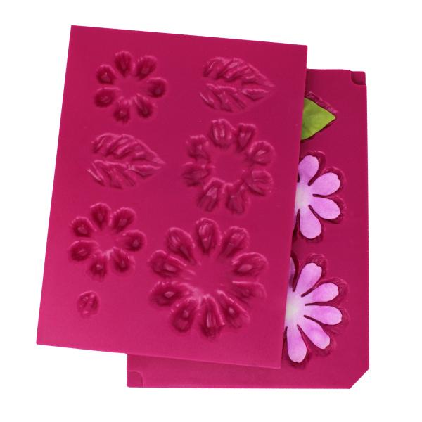 Heartfelt Creations : HCFB1-492 - Small 3D Zinnia Shaping Mold