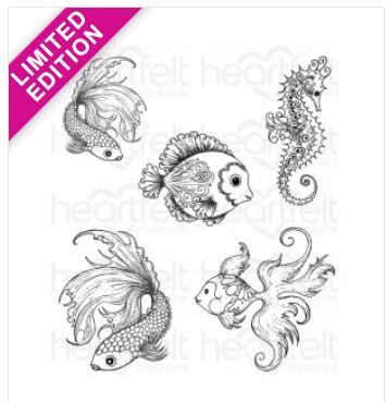 HCPC1-3739 - Under the Sea Cling Stamp *Limited Edition*
