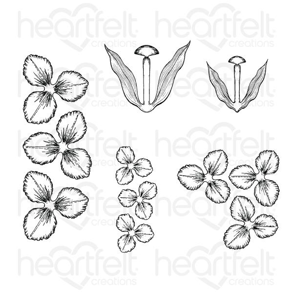 HCPC-3858 : Tulip Time Cling Stamp Set