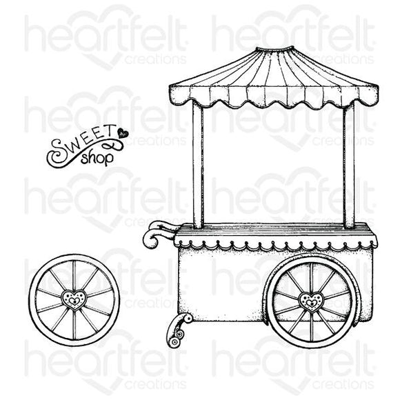 HCPC-3873 : Sweet Shoppe Cling Stamp Set