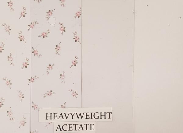 A4 - Heavyweight Acetate 10 Pack