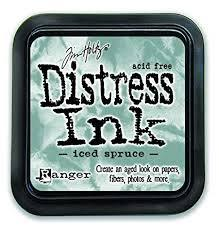 Ranger Distress Ink - Iced Spruce