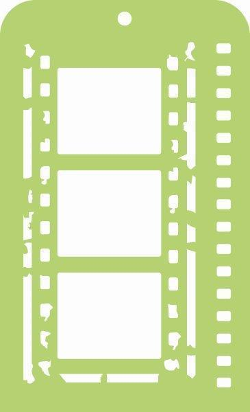 IT033 - Kaisercraft : Mini Designer Templates - Film Strip