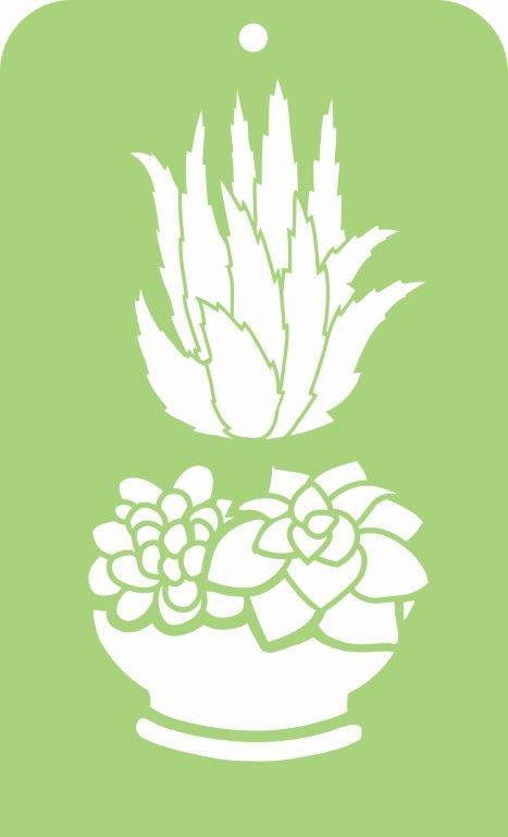 IT052 - Mini Designer Templates - Succulents