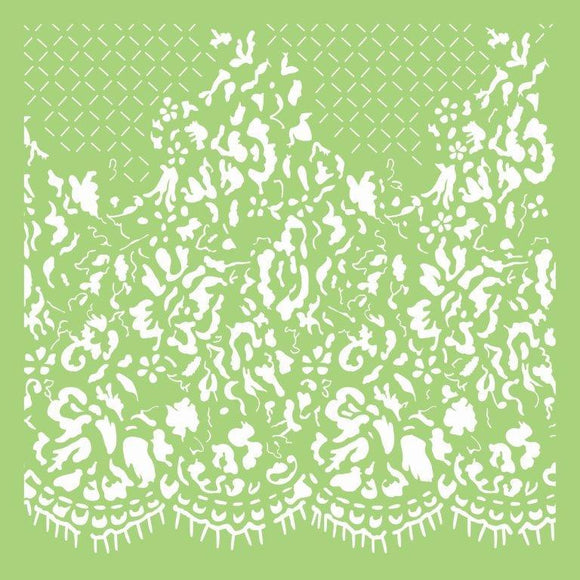 IT488 - 6x6 Designer Template - Lace