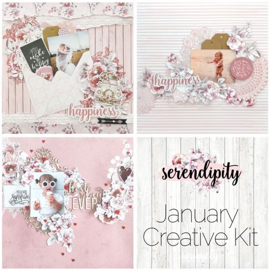 Creative Kit Club - January Collection - Seredipity
