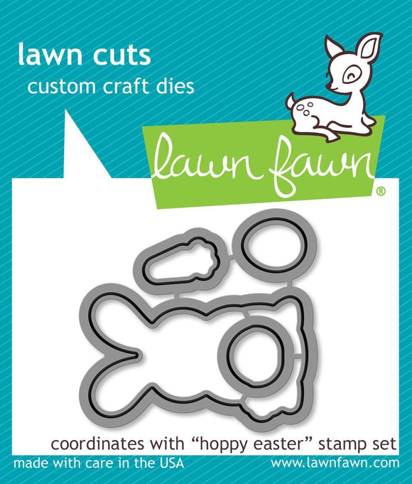 Lawn Fawn LF1320 - Hoppy easter lawn cuts