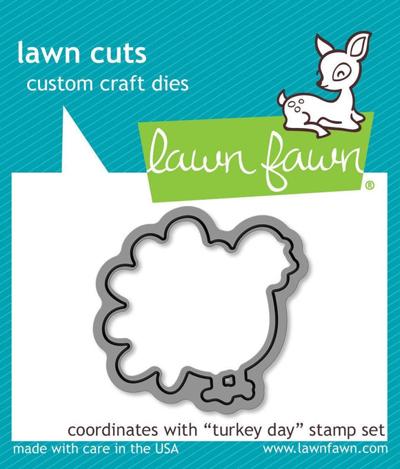 Lawn Fawn LF968 - Turkey day