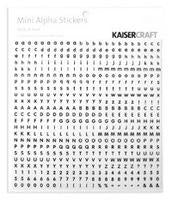 MA502 : Mini Alpha Stickers -White & Black