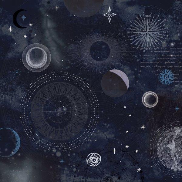 P2532 - Kaisercraft : Stargazer 12x12 Scrapbook Paper - Constellation