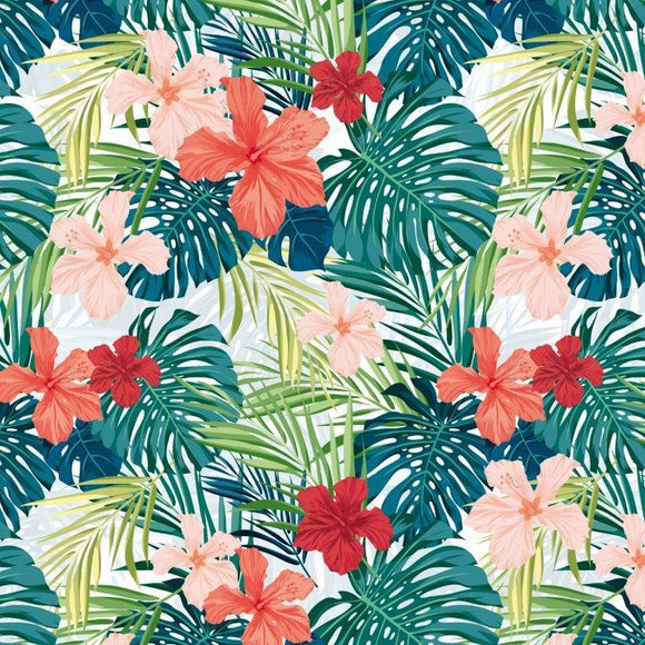 P2694 - Paradise Found 12x12 Scrapbook Paper - Tropic Vibes
