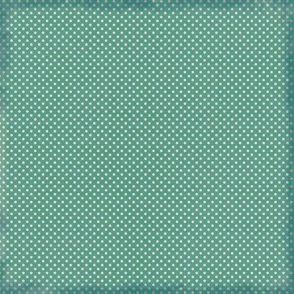 P2757 : Morning Dew 12x12 Scrapbook Paper - Serene