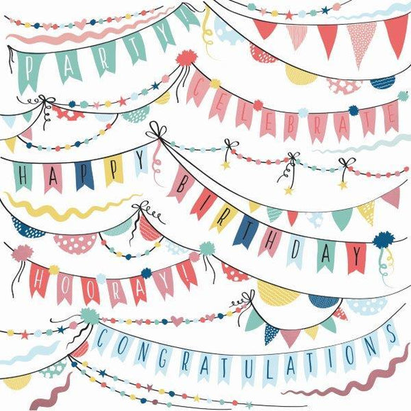 Kaisercraft : P2894 - Oh Happy Day! 12x12 Scrapbook Paper - Garlands