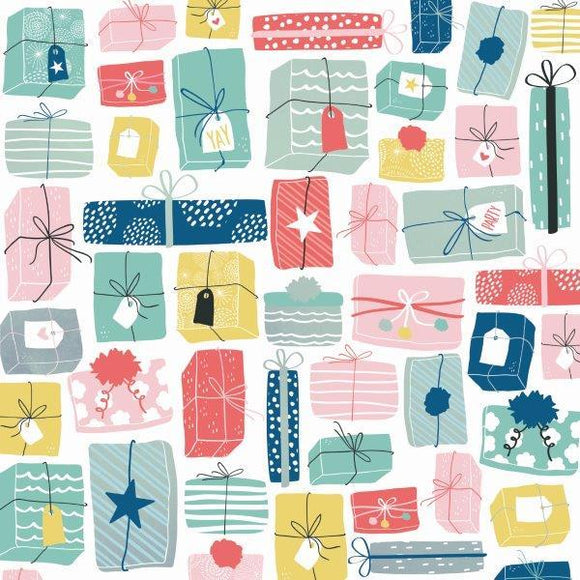 Kaisercraft : P2896 - Oh Happy Day! 12x12 Scrapbook Paper - Wrapped Up