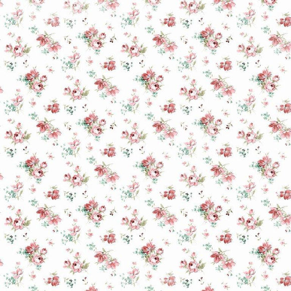 P2929 Kaisercraft - Little Treasures 12x12 Scrapbook Paper - Sweetheart