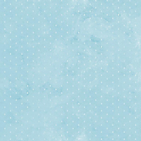 P2934 Kaisercraft - Little Treasures 12x12 Scrapbook Paper - Pitter Patter