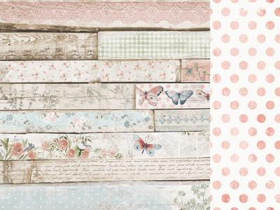P2937 : Flower Shoppe 12x12 Scrapbook Paper - Weatherboard (Kaisercraft)