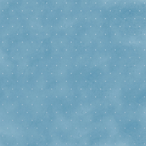 Kaisercraft : P2963 - Whimsy Wishes 12x12 Scrapbook Paper - COLD OUTSIDE