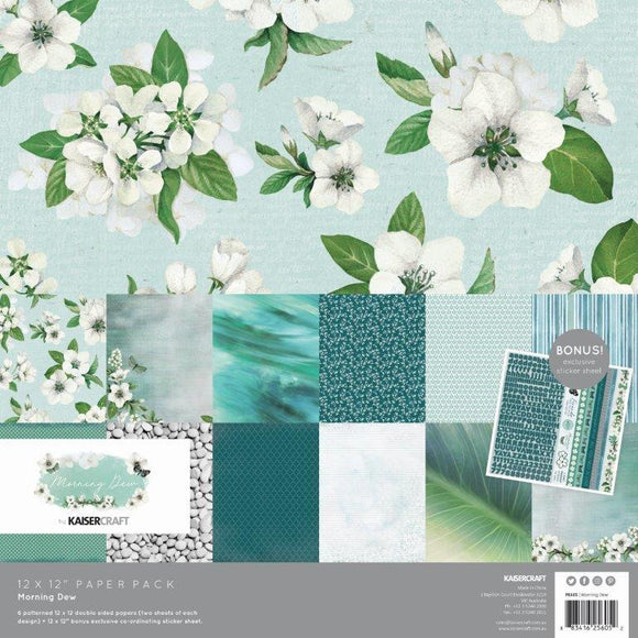 PK605 : Morning Dew Paper Pack with Bonus Sticker Sheet