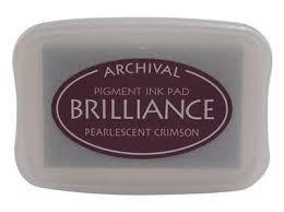 Brilliance -BR-62 Pearlescent Crimson