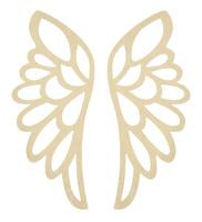 SB2472 - BTP - Angel Wings Wall Art