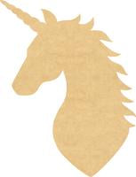 SB2477 :  Kaisercraft   : BTP - Wall Art Unicorn