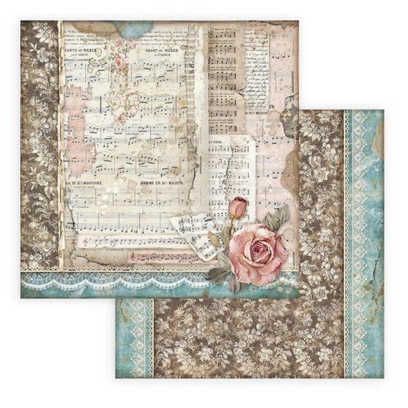 SBB770 - Stamperia - 12x12 Scrapbook Papers