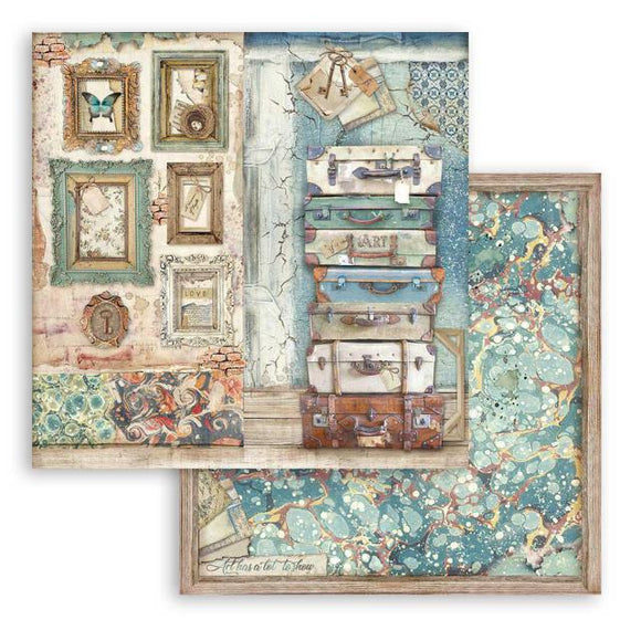 SBB778 - Stamperia - 12x12 Scrapbook Papers