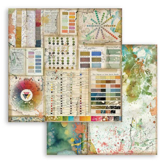 SBB780 - Stamperia - 12x12 Scrapbook Papers