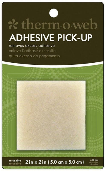 "Thermoweb Reusable Adhesive pickup square 2"" x 2"""