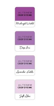 Altenew - 4 Pack 1''Cube - Shades of Purple
