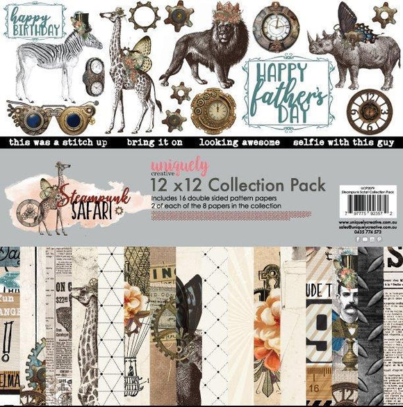 UCP-2079 Collection Pack - Steampunk Safari (Uniquely Creative)