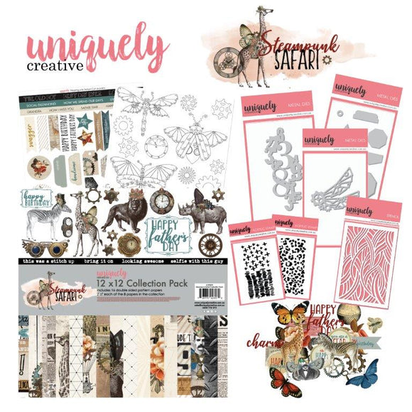 Creative Kit Club - Steampunk Safari - August Collection
