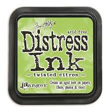 Ranger Distress Ink -Twisted citron