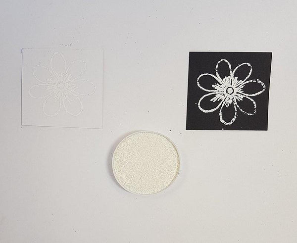 Embossing Powder - Thick White Small