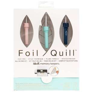 660579 : Machine Heat Activated Pens - WR - Foil Quill - Starter Kit