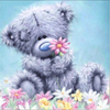 Diamond Painting #2- Blue Bear