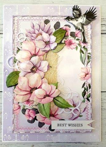 **INSTRUCTIONS ONLY** for Dainty and Lovely Card (CK) #819*