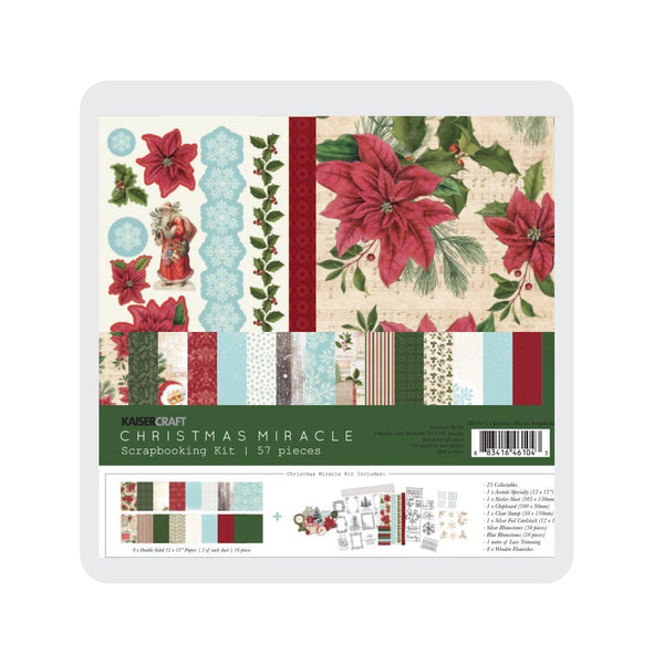 Kaiser Scrapbook Kit  collection - Christmas Miracle  SK104 October