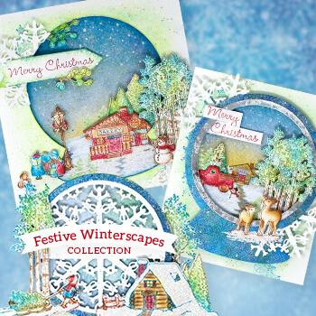 Heartfelt Creations : IWIA-1125 - Festive Winterscapes I Want It All