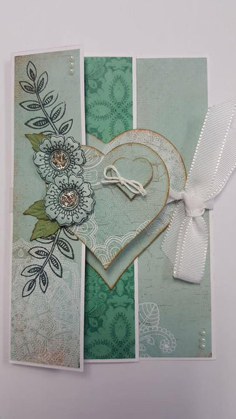 Instructions for Concertina Heart Card Kit (CK)