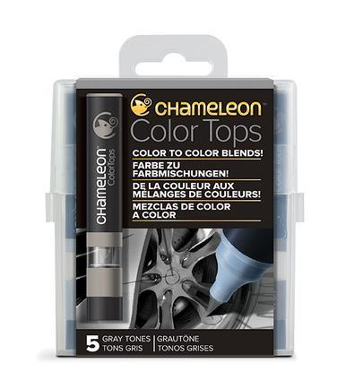 Chameleon 5-Color Tops Gray Tones Set