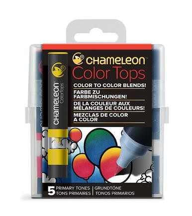 Chameleon 5-Color Tops Primary Tones Set