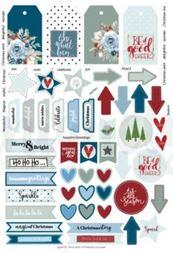 Cut Apart Sheet - Once upon a Christmas (Uniquely Creative)