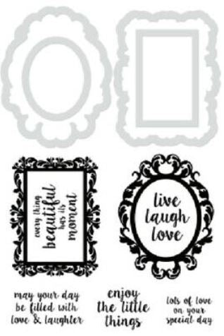DD902 - Kaisercraft : Decorative Die & Stamp Decor frames and quotes