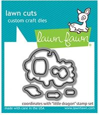 Lawn Fawn LF2324 Little Dragon die